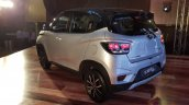 Mahindra KUV100 NXT Silver & Black rear three quarters left side