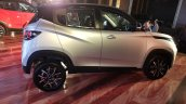 Mahindra KUV100 NXT Silver & Black right side