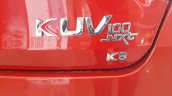 Mahindra KUV100 NXT boot lid badge