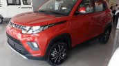 Mahindra KUV100 NXT left front three quarters