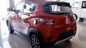 Mahindra KUV100 NXT left rear three quarters