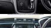 Mahindra KUV100 NXT vs. Mahindra KUV100 centre console