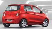 Maruti Suzuki Celerio facelift rear right quarter