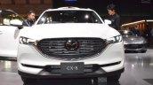 Mazda CX-8 front at 2017 Tokyo Motor Show
