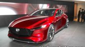 Mazda Kai Concept front three quarters left side at 2017 Tokyo Motor Show