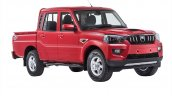 Next-gen Mahindra Scorpio Pik Up front three quarters official image