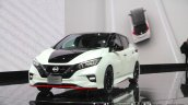 Nissan Leaf NISMO Concept front three quarters at 2017 Tokyo Motor Show