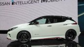 Nissan Leaf NISMO Concept profile at 2017 Tokyo Motor Show