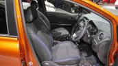 Nissan Note e-Power front seats at 2017 Tokyo Motor Show