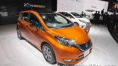 Nissan Note e-Power front three quarters at 2017 Tokyo Motor Show