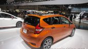 Nissan Note e-Power rear three quarters at 2017 Tokyo Motor Show