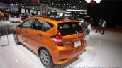 Nissan Note e-Power rear three quarters left side at 2017 Tokyo Motor Show