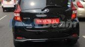 Nissan Note rear India spy shot