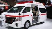 Nissan Paramedic Concept front three quarters at 2017 Tokyo Motor Show