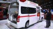 Nissan Paramedic Concept rear three quarters at 2017 Tokyo Motor Show