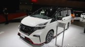 Nissan Serena Nismo alloy wheel skirts, roof at the Tokyo Motor Show