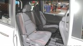 Nissan Serena Nismo second row seat at the Tokyo Motor Show