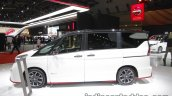 Nissan Serena Nismo side at the 2017 Tokyo Motor Show