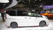 Nissan Serena Nismo side at the Tokyo Motor Show