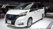 Nissan Serena e-Power at 2017 Tokyo Motor Show front three quarters
