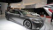 RHD 2018 Lexus LS front three quarters at 2017 Tokyo Motor Show