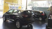 Renault Kwid bicolour rear three quarters left side