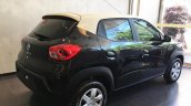 Renault Kwid bicolour rear three quarters right side