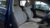 Skoda Kodiaq test drive review front seats