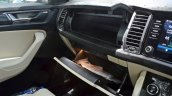 Skoda Kodiaq test drive review glove box