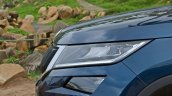 Skoda Kodiaq test drive review headlamp
