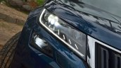Skoda Kodiaq test drive review headlight
