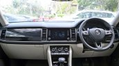Skoda Kodiaq test drive review interior dashboard
