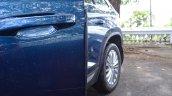 Skoda Kodiaq test drive review rubber door protector
