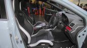 Subaru WRX STI S208 Limited Edition interior at the Tokyo Motor Show