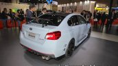 Subaru WRX STI S208 Limited Edition rear three quarters at the Tokyo Motor Show