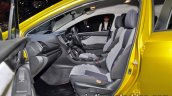 Subaru XV Fun Adventure Concept 2017 Tokyo Motor Show front seat