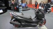 Suzuki Burgman 400 side profile at the 2017 Tokyo Motor Show