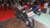 Suzuki SV650X rear three quarter at the Tokyo Motor Show