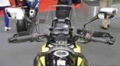 Suzuki V-Strom 250 dashboard windscreen at 2017 Tokyo Motor Show