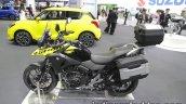 Suzuki V-Strom 250 side profile at 2017 Tokyo Motor Show