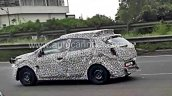 Tata X451 spy pictures side profile