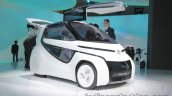 Toyota Concept-i Ride front three quarters at 2017 Tokyo Motor Show