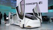 Toyota Concept-i front three quarters right side at 2017 Tokyo Motor Show