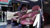 Toyota Fine-Comfort Ride Concept at the 2017 Tokyo Motor Show rear seat