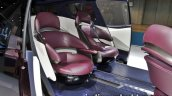 Toyota Fine-Comfort Ride Concept at the 2017 Tokyo Motor Show rear seats