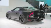 Toyota GR HV SPORTS concept rear three quarters at the 2017 Tokyo Motor Show