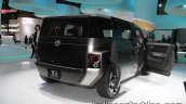 Toyota Tj Cruiser concept at the 2017 Tokyo Motor Show doors open