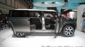 Toyota Tj Cruiser concept at the 2017 Tokyo Motor Show side view with open doors