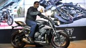 Triumph Street Triple RS with Vimal Sumbly