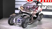 Yamaha MWC-4 front three quarters left side at 2017 Tokyo Motor Show
